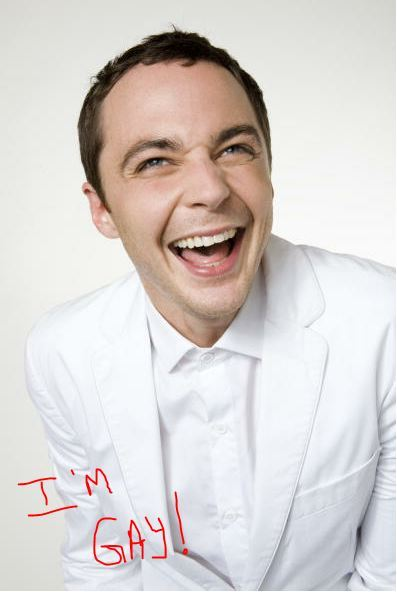 this makes me smile! =) Big Bang Theory's Jim Parsons: I'm Gay congratulations jim!
