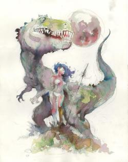 dinosaurs-and-boobs:  New Steve Mannion. Dude's a master.