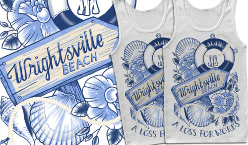 Warped tour exclusive tank top I designed for A Loss For Words.  If you're going make sure you go watch them and pick up some merch, such a sick band!