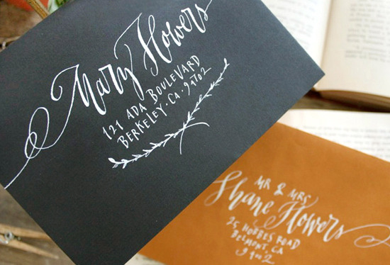 (via Calligraphy Inspiration from Nancy Hopkins | Oh So Beautiful Paper)