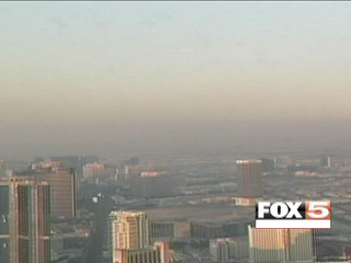 Northern Nev. wildfire smoke winds up over Las Vegas Clark County air quality officials issued an air quality advisory Wednesday as smoke from a northern Nevada wildfire continued to make its way to the area. The Tre fire, located about 400 miles northwest of the Las Vegas Valley, has charred at least seven homes since it started Tuesday. read more