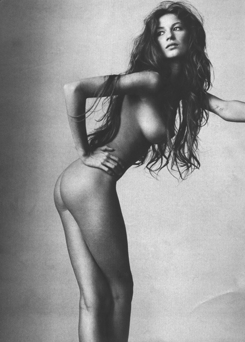 joaoker:  The Return of the Curve - Gisele Bundchen photographed by Irving Penn for Vogue US [1999]