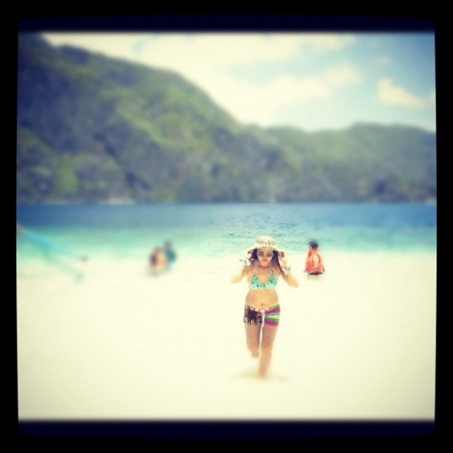 Every summer has its story. Summer 2012. #sand #sun #beach #summer #elnido #palawan #pilipinas #philippines  (Taken with instagram)