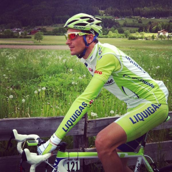 Looking good (via Twitter / ivanbasso: Si parte per le montagne..)