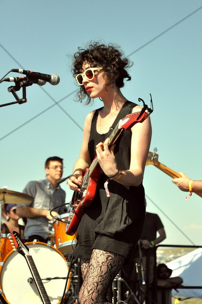 baseln:  Always reblog Annie Clark in concert.  I am a fan of this philosophy.