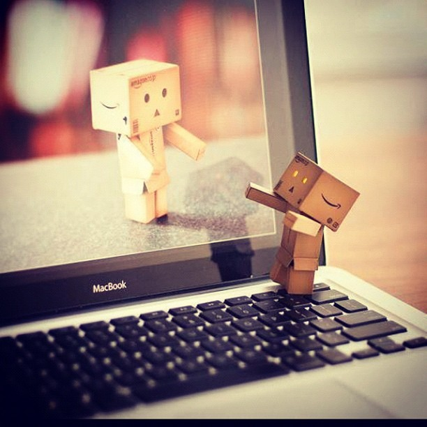 Everyone needs a hug once in a while. #hug #robotbox #cute #awesome (Taken with instagram)