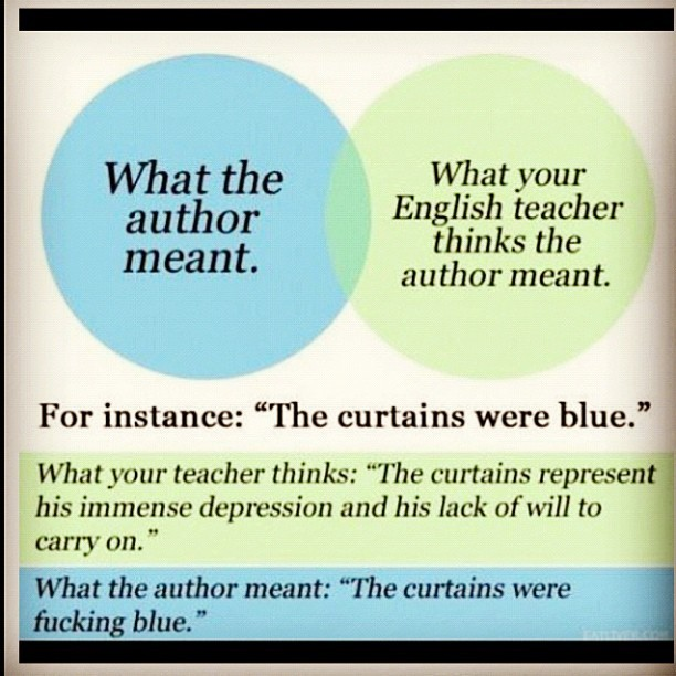 English teachers… So true it's funny. #awesome #funny #teachers #english (Taken with instagram)