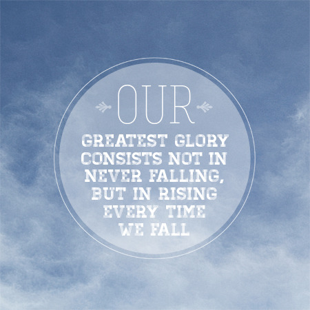 visualgraphic:  Our Greatest Glory