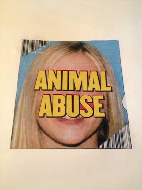 Animal Abuse. Paper collage. Boulder, CO 2012.