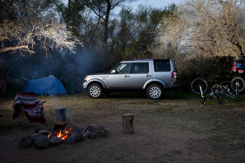 Extended Stay Car camping in style with the LR4.