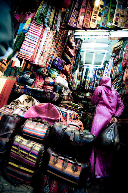blulilly:  Souk by Zanthia on Flickr.