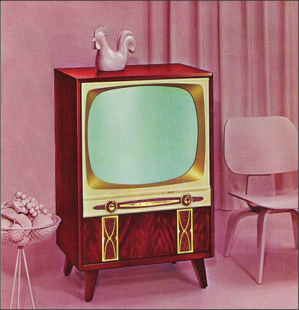 Philco Television 1955 from a dealer sales catalog