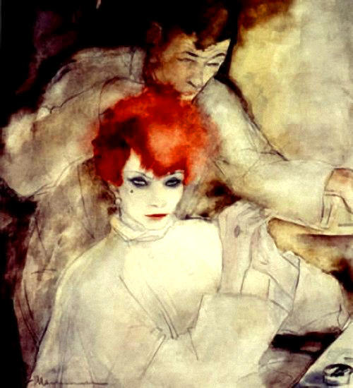 The Redhead (1930) by Jeanne Mammen