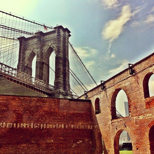 Bridge from the arches (Taken with instagram)