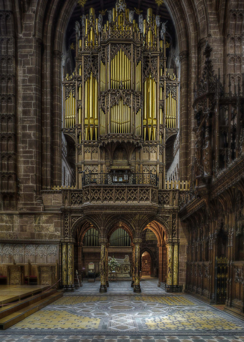 unknownskywalker:  The Organ by Dave Wood