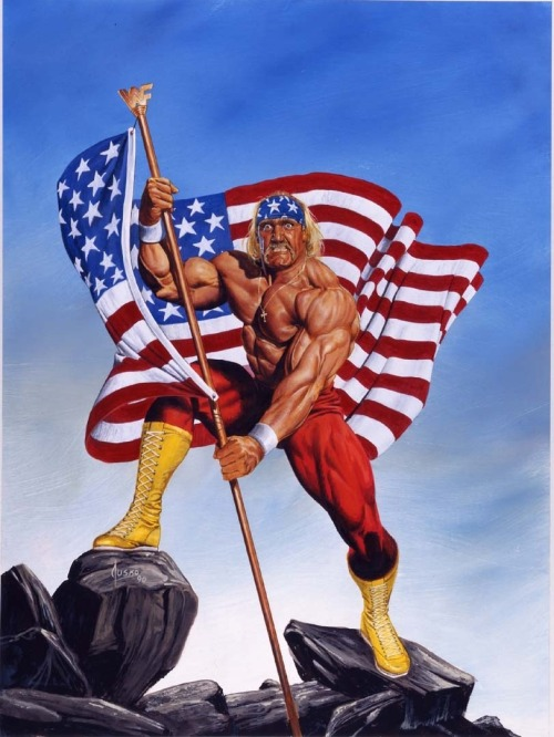 kgthunder:  Artist: Joe Jusko    Happy memorial day.