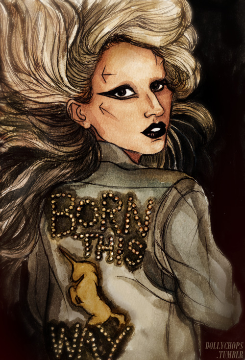 dollychops:  Happy Birthday Born This Way!