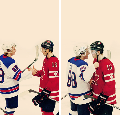 """I thought Toews played really good so I just told him that."""