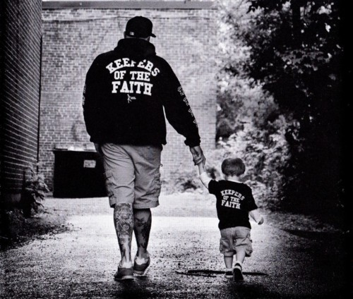 Father & son - Keepers of the Faith