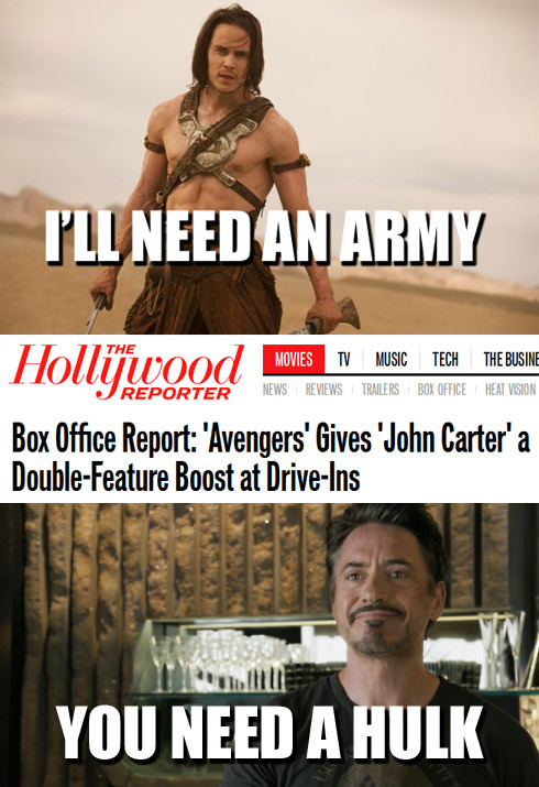 johncarterofmeme:  Science fiction double feature.