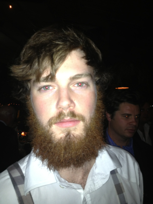 Location: Potts Point, Sydney, Australia Name: Electric fuzz - Great beard, shit hair.