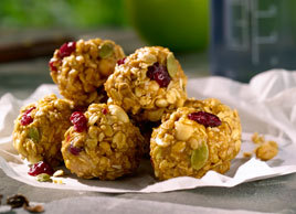 (via Peanut Power Balls | Recipes | Eat Well | Best Health)