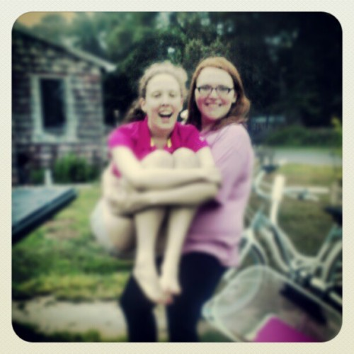 Katie and Taylor (Taken with instagram)