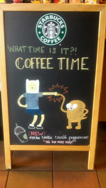 adventuretime:  It's ba-nay-nay! fyeahadventuretime:  I made this at work…. yeah, there are some perks to my job. :3 Submitted by singmetomuses   This is the best!!