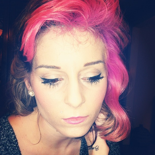 #pastel #fashion #flip #pink #hair (Taken with instagram)