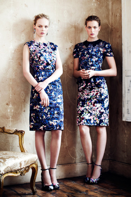 Erdem Resort 2013 Collection via Boo George / Tom & Lorenzo