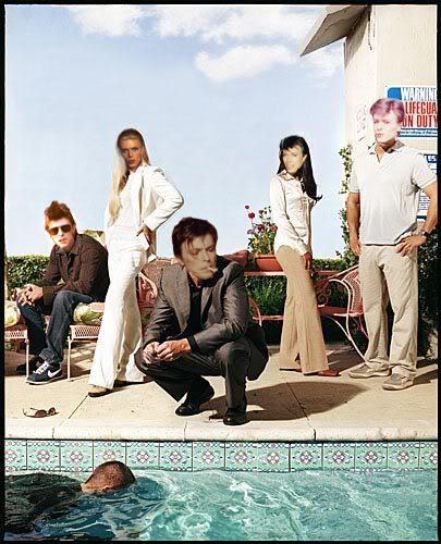 David Bowie as the CSI: Miami cast Requested by unfortunatellamas.