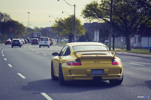 motoriginal:  Porsche 911 (997) GT3 - Keep Your Distance