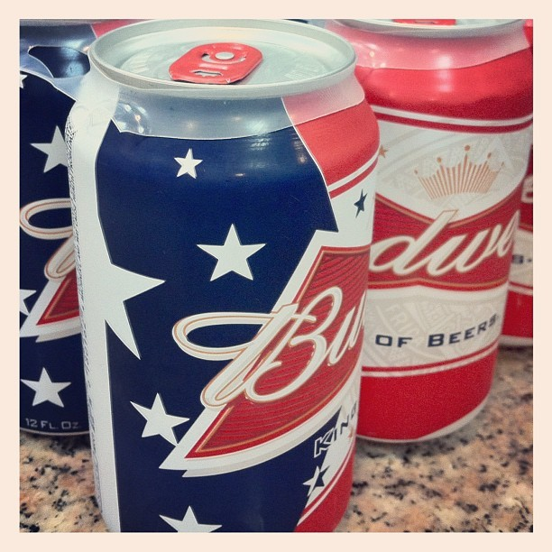 Ready for fleet week, American Budweiser