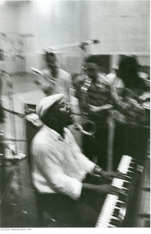 Thelonious Monk 1957 (photo by Lee Friedlander)