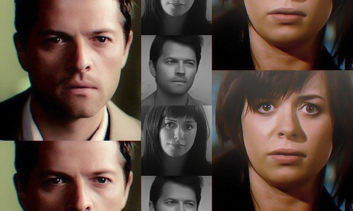 Torchwood: Genderswap  ◆ Misha Collins as Gwen Cooper ((Haha. I didn't think my graphics could get any shittier than my last ones. I was wrong. Please excuse the awful editing, all I had was Lightroom and MS Paint to work with. Pictures used from torchwood-caps.tumblr, whoniversecaps.tumblr, and imdb.com.))