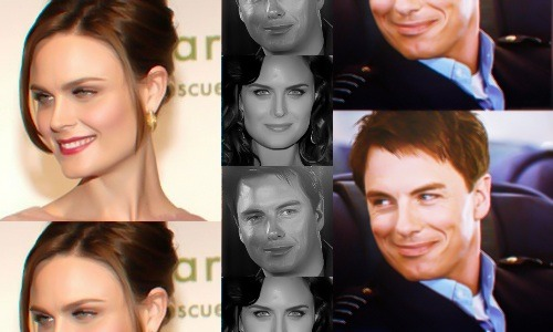 Torchwood: Genderswap  ◆ Emily Deschanel as Captain Jack Harkness ((Haha. I didn't think my graphics could get any shittier than my last ones. I was wrong. Please excuse the awful editing, all I had was Lightroom and MS Paint to work with. Pictures used from torchwood-caps.tumblr, whoniversecaps.tumblr, and imdb.com.))