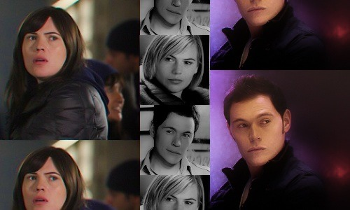 Torchwood: Genderswap  ◆ Clea Duvall as Owen Harper ((Haha. I didn't think my graphics could get any shittier than my last ones. I was wrong. Please excuse the awful editing, all I had was Lightroom and MS Paint to work with. Pictures used from torchwood-caps.tumblr, whoniversecaps.tumblr, and imdb.com.))
