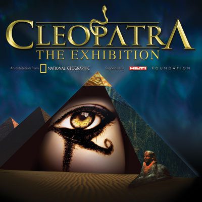 "California Science Center opened the touring exhibit ""Cleopatra"" today"