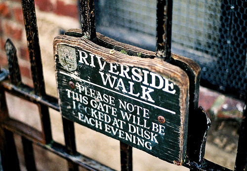 closing:  Riverside Walk (by Ben Clinch)
