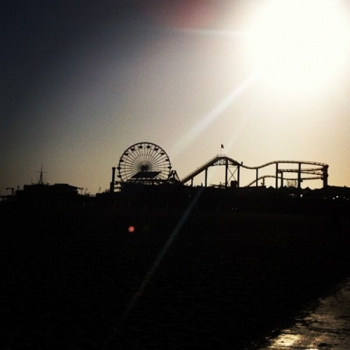 Santa Monica #instamood #instagram #ig #iphoneography #california (Taken with Instagram at Santa Monica Pier)