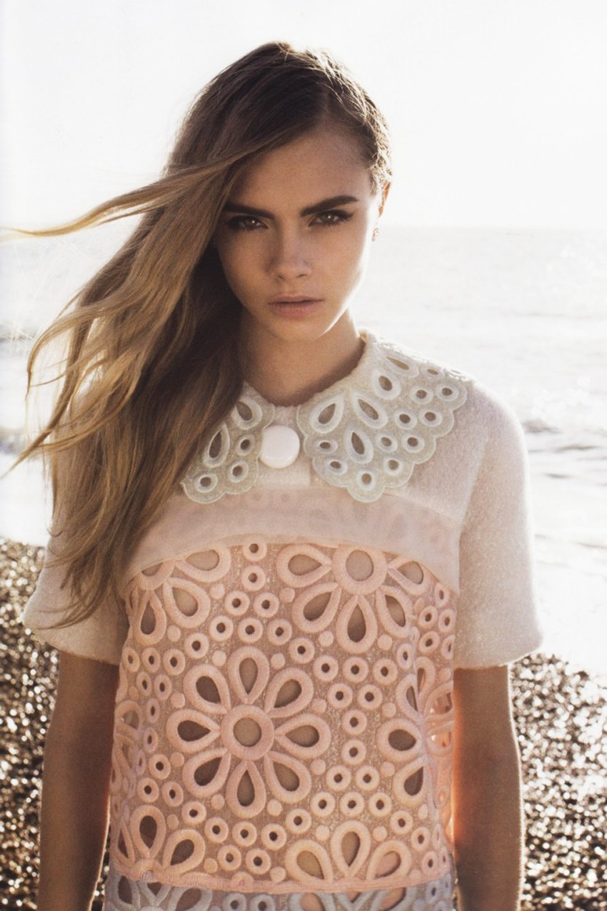 fashion-modele:  Cara Delvingne for Lula #14 Spring/Summer 2012
