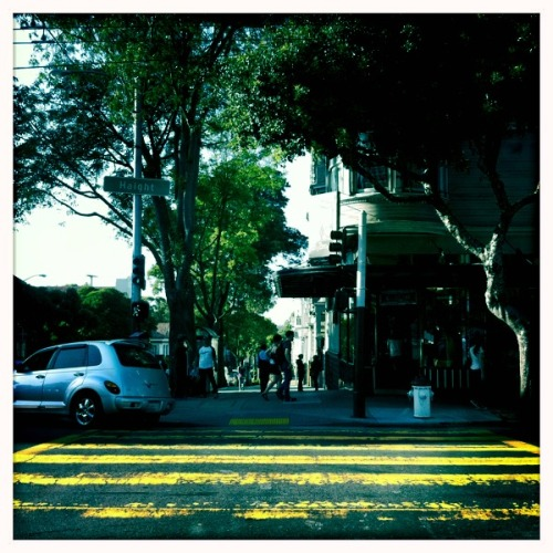 haight street. san francisco june '11.