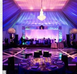 If I was doing an indoor reception this would amazing!