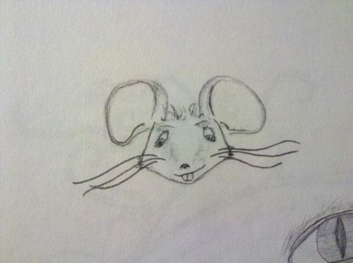 acolorfulmind:  Cute Mr. Mousie!