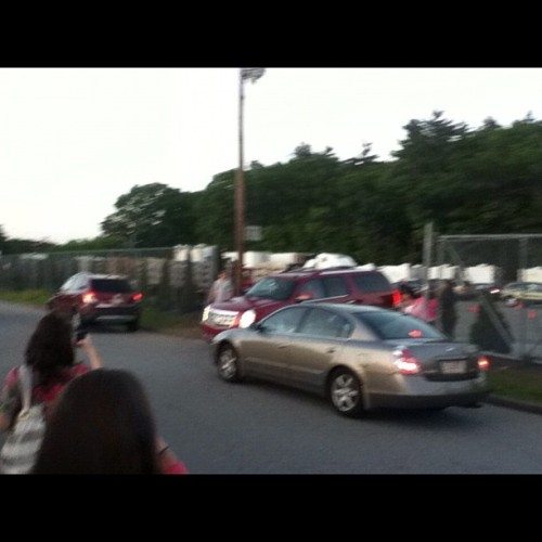 Adam sandlers car before he drove by and waved at me :) (Taken with instagram)