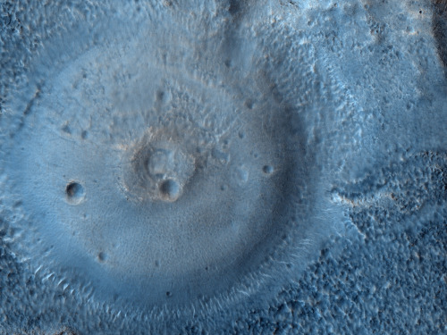n-a-s-a:  Possible Mud Volcanoes on Mars  Credit: HiRISE, MRO, LPL (U. Arizona), NASA