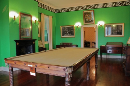 Billiard Room at Longwood, St. Helenavia My Napoleon Obsession