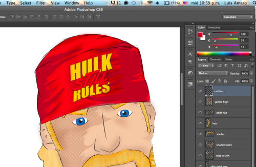 Currently working on this #HulkHogan