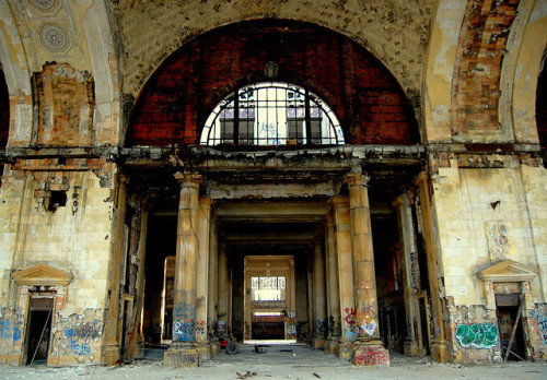 chaosoverload:  David Kohrman - Michigan Central Station