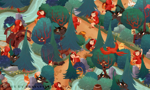 Levels from our latest game Red Riding Hood - Hidden Stories. Download it !